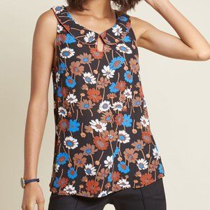 Modcloth M Just as Imagined NWOT Top Black